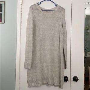 Off white sweater dress